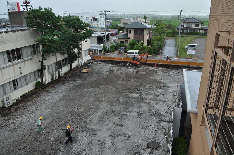 新庁舎建設予定地